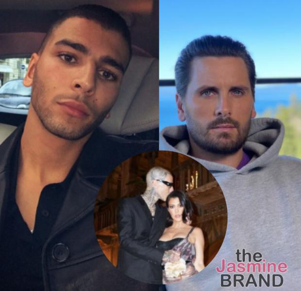 Kourtney Kardashian's Ex, Younes Bendjima, Posts Screenshots Of Scott Disick Mocking Her PDA W/ Travis Barker: Is This Chick OK?!