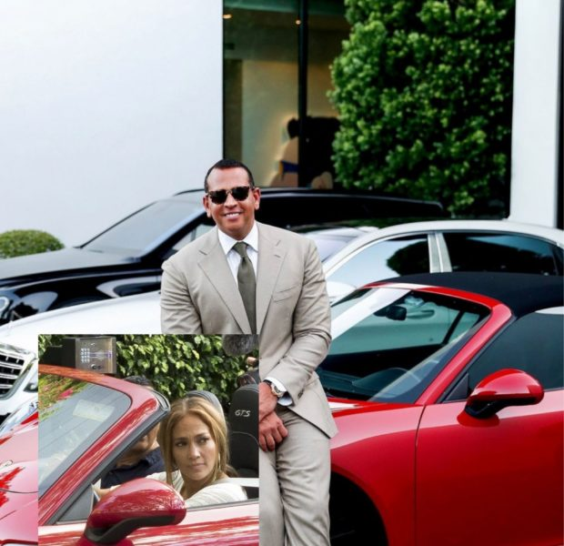 Alex Rodriguez – Fans Think This Photo Proves He Took Back the Porsche He Once Gifted to J.Lo
