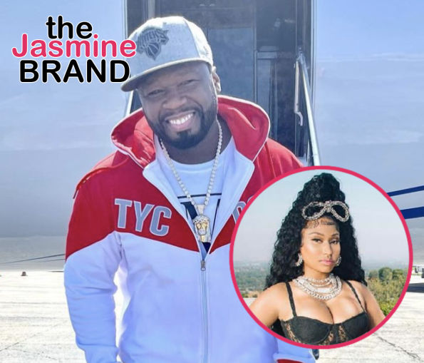 50 Cent Says He Wants To Star In Romantic Comedy With Nicki Minaj: I Kind Of Understand Her A Little Bit More Than Other People