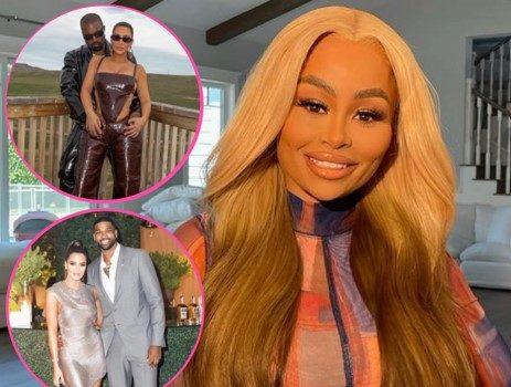 Blac Chyna Says 'Be Happy & At Peace' As She Comments On Kim Kardashian & Kanye West's Split + Tells Khloé Kardashian 'If Tristan Thompson Makes You Happy Then Do That Sweetheart'