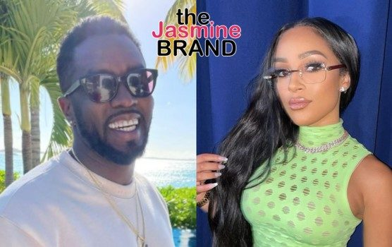 Diddy Spotted Kissing Joie Chavis On A Yacht In Italy