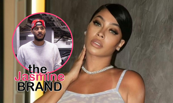 La La Anthony Opens Up About Buying A New Place After Filing For Divorce From Carmelo Anthony