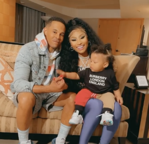 Nicki Minaj Is Stunned After Her Son Says 'Hi' To The World + Shares Rare Family Moments