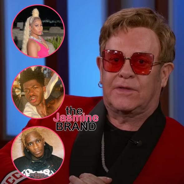 Elton John Announces New Album That Will Feature Nicki Minaj, Lil Nas X & Young Thug