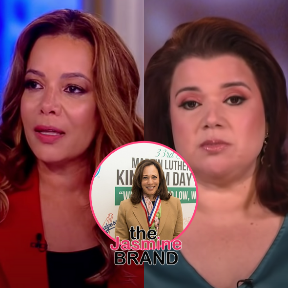 Sunny Hostin & Ana Navarro Test Positive For COVID-19, Asked To Leave 'The View' Set On Live TV Just Moments Before VP Kamala Harris' Appearance