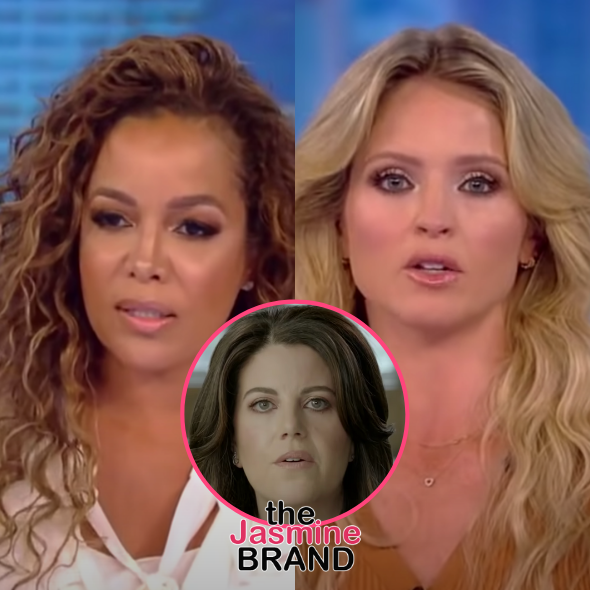 The View's Sunny Hostin & Sara Haines Disagree On Whether Monica Lewinsky Is A Victim & Profiting From Bill Clinton Affair: 3 Movies Later Isn't Enough?