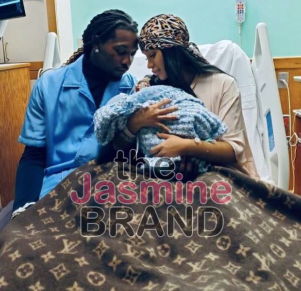 Cardi B & Offset Welcome Their Second Child Together