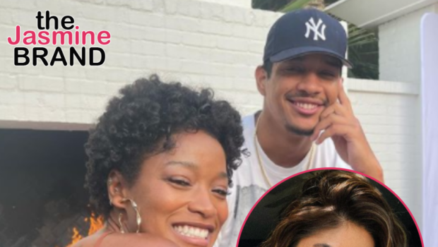 Keke Palmer's Boyfriend Accused By His Ex Of Pressuring Her To Get An Abortion 3 Weeks Before He Went Public W/ Actress