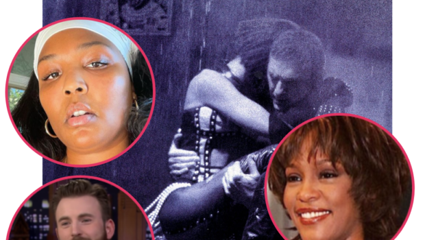 Whitney Houston's Debut Film 'The Bodyguard' Gets Reboot Green-Light From Warner Bros. + Lizzo Jokes About Staring In Movie With Chris Evans