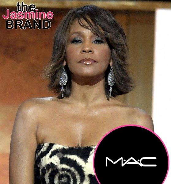 Whitney Houston's Estate & MAC Cosmetics Announce Upcoming Collaboration: She Loved To Use Makeup As Part Of Her Art