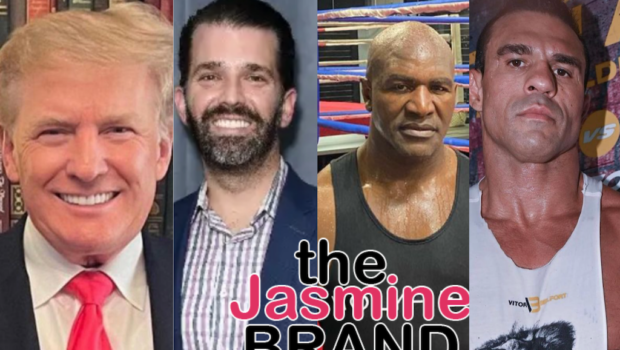 Donald Trump & Son Donald Jr. Will Give Ringside Commentary For Evander Holyfield-Vitor Belfort Fight