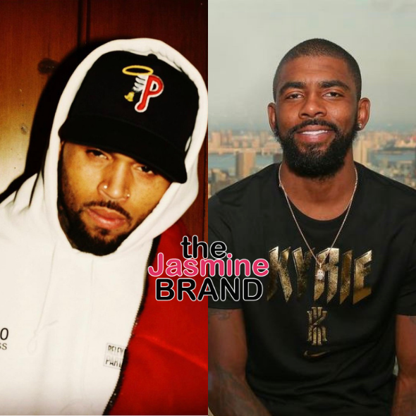 Chris Brown Defends Kyrie Irving Amidst Controversy Over His Vaccination Status: It's His Choice & A D*** Good One