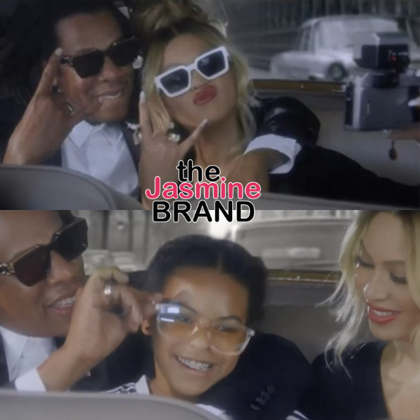 Beyoncé & Jay-Z Star In New 'Date Night' Ad For Tiffany & Co. + Blue Ivy Makes A Cameo [WATCH]