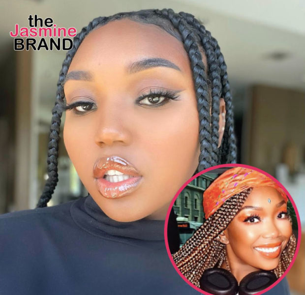 Brandy's Daughter Sy'Rai Smith Shows Off Weight Loss In New TikTok Challenge