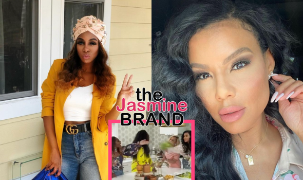 RHOP's Candiace Dillard & Newbie Mia Thornton Throw Salad At Each Other During Heated Argument [WATCH]