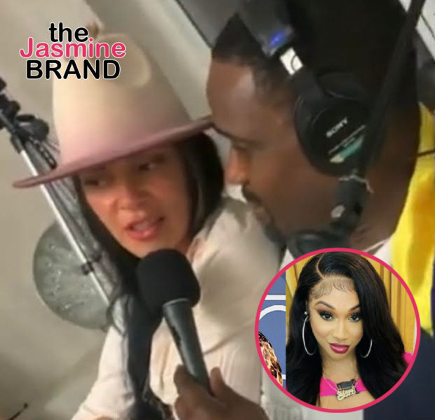 Darius McCrary Kisses Girlfriend In Interview Amid Rumors He's Dating Sidney Starr