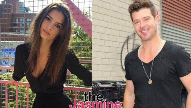 Robin Thicke Accused Of Groping Model, Emily Ratajkowski While Filming  'Blurred Lines' Music Video