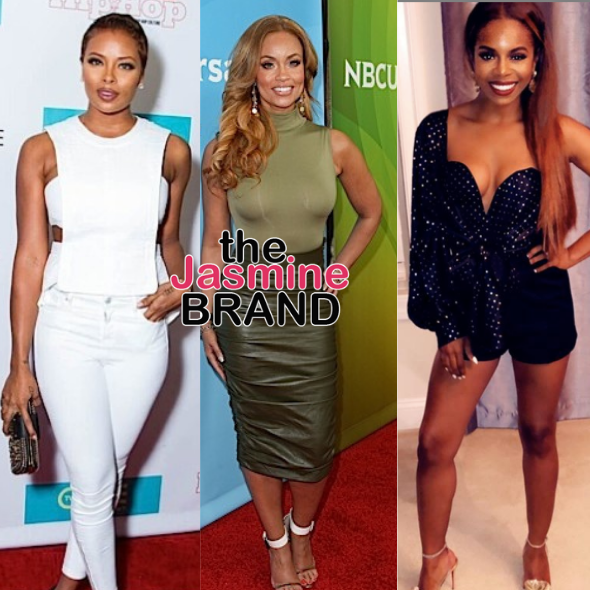 Eva Marcille, Gizelle Bryant, and Candiace Dillard To Star In TV Movie 'The Waiting Room'