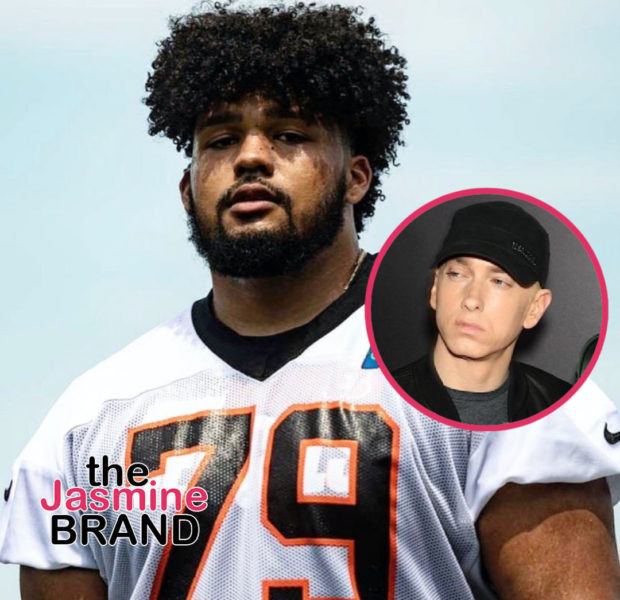 Cincinnati Bengals Guard Jackson Carman Clarifies He Didn't Eat At Eminem's Restaurant After Suggesting He Got Sick From 'Mom's Spaghetti'
