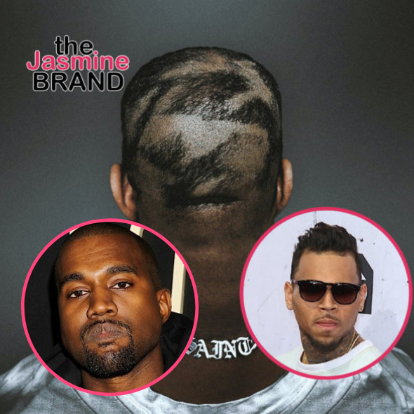 Chris Brown Reacts To Kanye West's New Hairstyle: He Got The Punishment Haircut