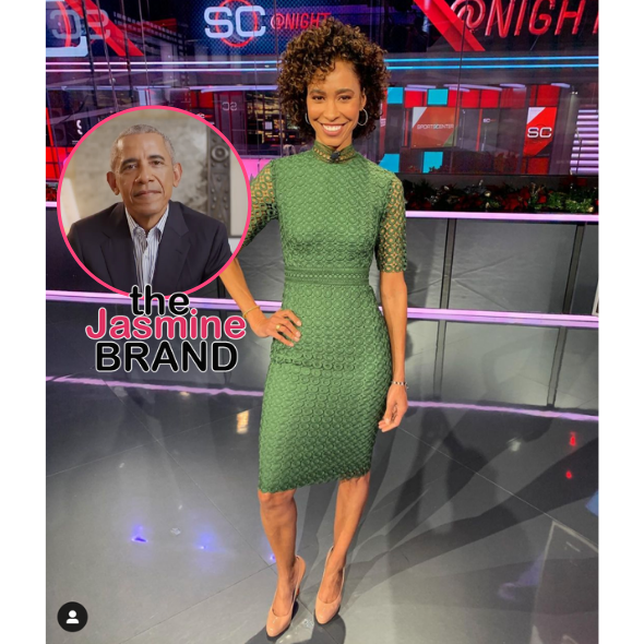 Sage Steele Off ESPN For A Few Days After Positive COVID Test & Controversial Remarks About Barack Obama