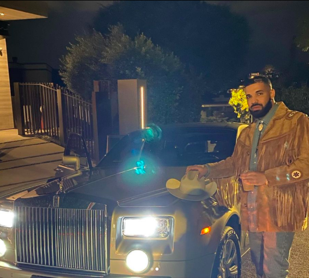 Drake's Friend Purchased Him The Exact Rolls Royce Phantom They Once Rented To Convince People They Were 'Destined To Make It'