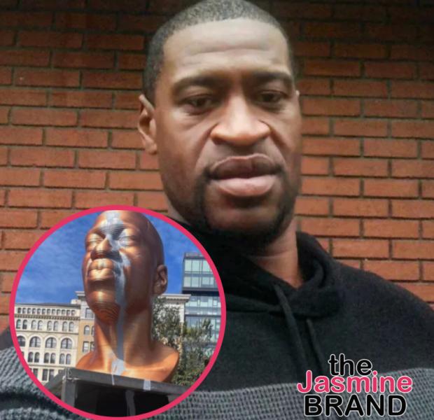 George Floyd Memorial Statue Vandalized In NYC
