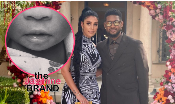 Usher & Girlfriend Jenn Goicoechea Welcome 2nd Child, Sire Castrello Raymond, Together