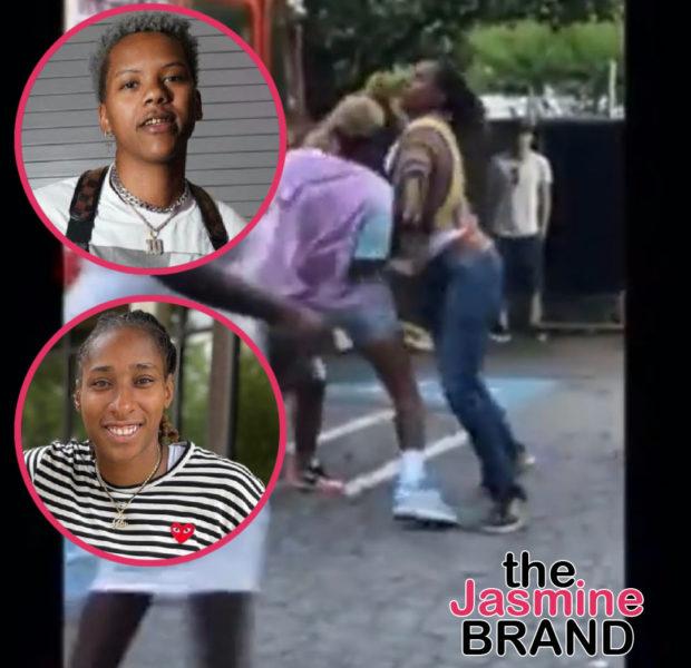 WNBA Players Courtney Williams & Crystal Bradford Caught On Camera In Atlanta Brawl, Williams Later Apologizes