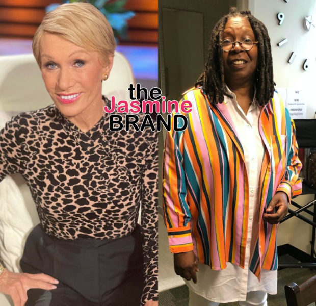 Barbara Corcoran Makes Joke Toward Whoopi Goldberg: When You Get Finished With Those Jeans Give Them To Me, I'm Going To Make Two Pair, Later Apologizes