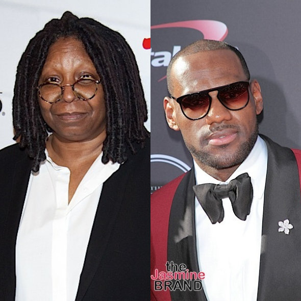 Whoopi Goldberg & 'The View' Co-Hosts Call Out LeBron James For Not Encouraging People To Get Vaccinated